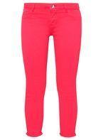 Womens Petite Pink Skinny Jeans- Pink