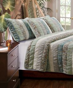 Another great find on #zulily! Paradise Quilt Set by Greenland Home Fashions #zulilyfinds