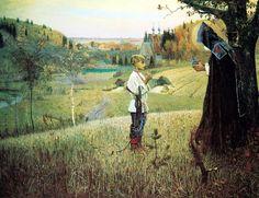 Mikhail Nesterov «La vision du jeune Bartholomée» – 1890