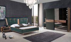 Wardrobe Design Bedroom, Bedroom Bed Design, Modern Bedroom Decor, Bedroom Furniture Design, Bed Furniture, Interior Design Living Room, Bed Headboard Design, Headboards For Beds, Khalid