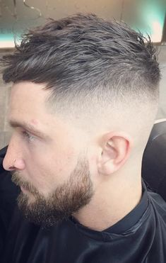 high fade long top brushed forward - Google Search