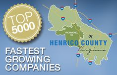 Businesses thrive in Henrico. See the proof on the 2014 Inc. 5000 Fastest-Growing Companies list.