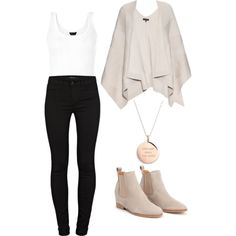 A fashion look from November 2015 featuring rag & bone, J Brand jeans and Kate Spade necklaces. Browse and shop related looks.