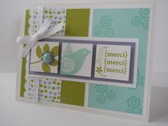 Stampin' Up! Card  by Maryse Pelletier