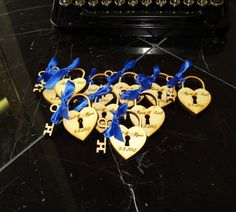 50 Heart and Key Wedding Favors by EtchedinTimeLLC on Etsy