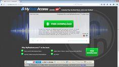Remove MyRadioAccess toolbar