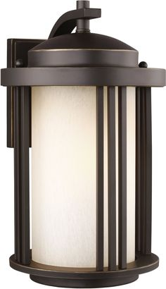 0-028520>Crowell 1-Light Energy Star Outdoor Wall Lantern Antique Bronze