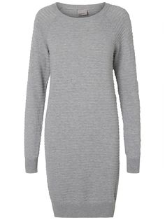 Knitted stripe textured dress from VERO MODA. Wear it with a pair of sneaks for that sporty look.