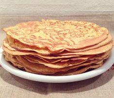 """Fuldkorns Majs-Tortillas"" (glutenfri, laktosefri & sukkerfri) | Fab Food by Pernille By, Tortillas, Burritos, Pancakes, Breakfast, Ethnic Recipes, Food, Cake Rolls, Smothered Burritos"