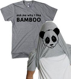Chiedere a Me perché che io panda come bambù di CrazyDogTshirts, $17.99
