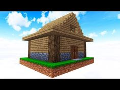 SURVIVING WITH ONLY A HOUSE! - YouTube Minecraft Tutorial, Best Luxury Cars, View Video, Mini Games, Minecraft Houses, Survival, Bird, Building, Outdoor Decor