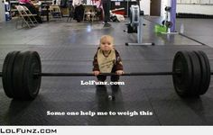 Some one help him to weigh it