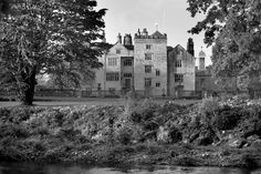 Levens Hall from the north