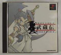 #PS1 Japanese Brave Fencer Musashi SLPS-01490~1 http://www.japanstuff.biz/
