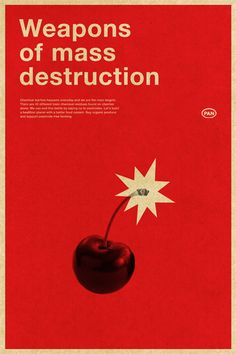 Weapons of Mass Destruction / A campaign to promote pesticide-free produce by Jenny Pan