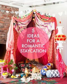 Bring the romance home with these 5 tips