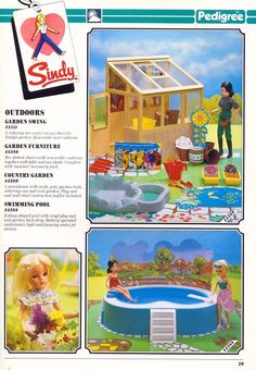 The 80's | Vintagesindy My Childhood Memories, Childhood Toys, Sindy Doll, Doll Toys, Dolly House, Barbie Playsets, Post Mortem Photography, 1980s Toys, Barbie House