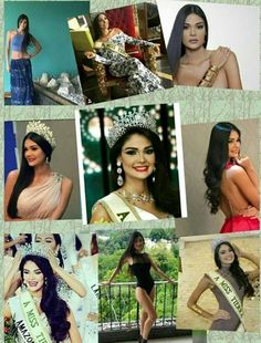 Collage de Andrea Rosales,  Miss Earth Venezuela 2015..