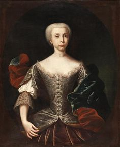 Infanta Maria Bárbara de Bragança (future queen of Spain (1711-1758)) - National Museum of Ancient Art