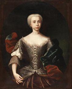 Infanta Maria Bárbara de Bragança (future queen of Spain (1711-1758)) - National Museum of Ancient Art