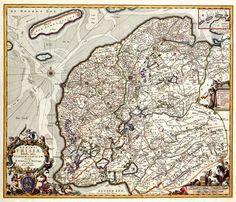 Heerlijkheid Friesland 1680 Schotanus a Sterringa