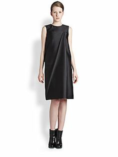 Jil Sander Pleat Dress
