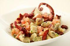 Primo piatto perfetto per il pranzo della domenica, gli gnocchi di ricotta ai frutti di mare, dalla Prova del Cuoco