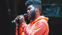 An up-and-coming rapper, Khalid has been involved with music ever since his high school days. Kyle Ispy, Khalid Singer, Famous Singers, Love My Boys, Height And Weight, Shows, Celebs, Celebrities, Favorite Person