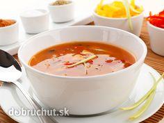 Polievka s kuriatkami a paradajkami