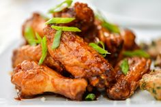 Grilled Crispy Sweet and Spicy Korean Chicken Wings :: The Meatwave