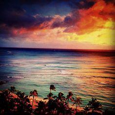 Sunset Beach #colorsunset #colornature