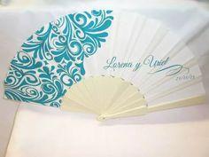 abanicos personalizados para bodas xv años bautizo comunion