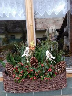 Advent, Xmas Decorations, Garden Decorations, Beautiful Christmas, Christmas Wreaths, Home And Garden, Holiday Decor, My Style, Home Decor