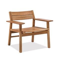 Outdoor Club Chair | Tekwood | Aluminum | Commercial Grade | Madrone