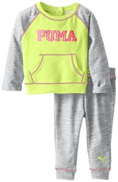 PUMA Baby Girls' Love Sparkle Set, Sh…