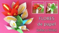 Image result for papel reciclado manualidades flores