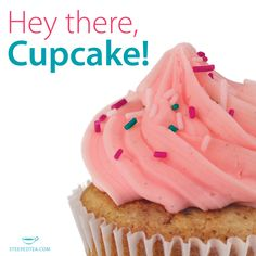 We've been baking up a storm here at Steeped Tea! Our Confetti Cupcake mix is made with bright Berry Mania fruit tea. www.steepedtea.com