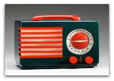 Beautiful art deco radio