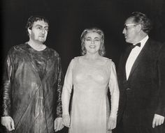 W.Windgassen - M.Mödl - Wieland Wagner 1962