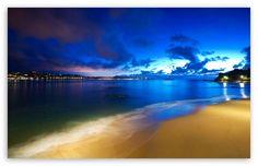 Outstanding Nature Ocean Beach at Night Desktop HD Desktop Wallpaper Scenic Wallpaper, Ocean Wallpaper, Free Desktop Wallpaper, Summer Wallpaper, Widescreen Wallpaper, Landscape Wallpaper, Nature Wallpaper, Of Wallpaper, Wallpaper Backgrounds