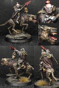 Orc shaman on Warg