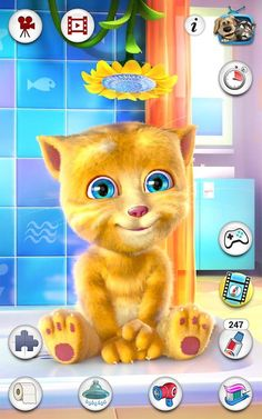 Talking+Ginger+Fun+Android+App+Free+Download