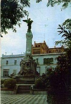 Postal de cadiz nº 26 - monumento al marques de comillas