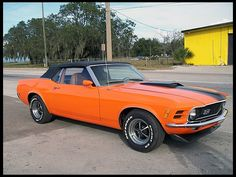 1970 Ford Mustang Convertible  #Mecum #Kissimmee #WhereTheCarsAre