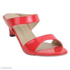 Heels & Sandals Attractive Women's Heels Material: Upper Material - Synthetic Sole Material - Resin IND Size: IND - 3IND - 4 IND - 5 IND - 6 IND - 7 IND - 8 Color: Red Description: It Has 1 Pair Of Women's Heel Sandals Country of Origin: India Sizes Available: IND-8, IND-3, IND-4, IND-5, IND-6, IND-7   Catalog Rating: ★3.9 (431)  Catalog Name: Stylish Women's Heel Sandals Vol 8 CatalogID_580108 C75-SC1062 Code: 673-4083052-997