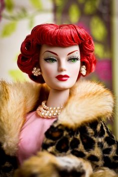 Pin up Barbie!!! Where we're u when I was growing up!?!