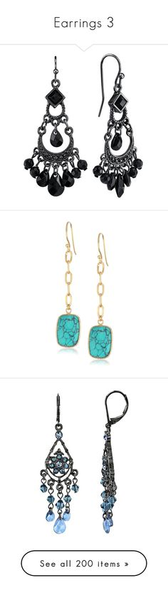 """""""Earrings 3"""" by photographer4life ❤ liked on Polyvore featuring jewelry…"""