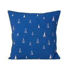 Kissen Cone Blue 40 x 40 von Ferm Living