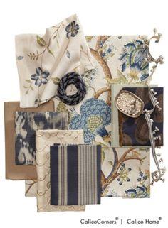 Blue Horizon Fabric Collection