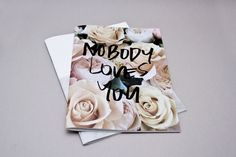 print, fashion, magazine, catalog, no body loves you